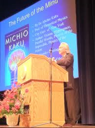 "Dr. Michio Kaku has ""phun"" at Stambaugh"