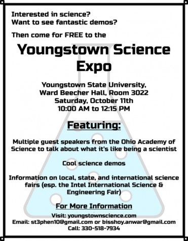 YSU, Canfield students to host Youngstown Science Expo