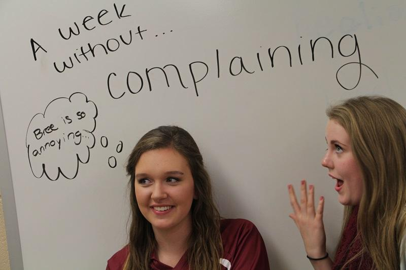 A week without complaining