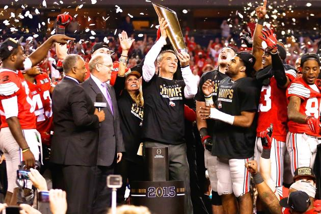 The Ohio State Buckeyes are national champions