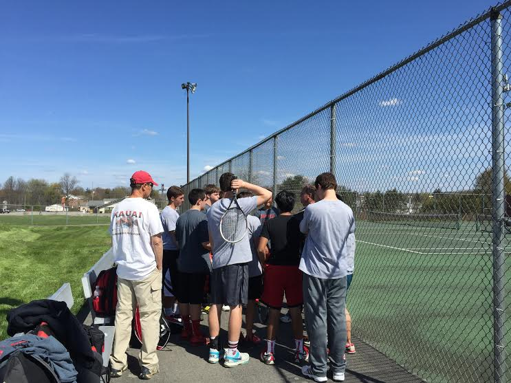 Boys tennis team are champions yet again