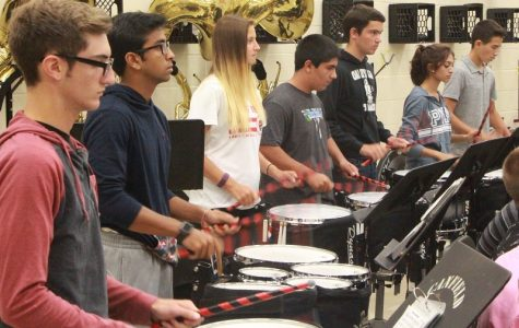 Canfield drumline like one big family