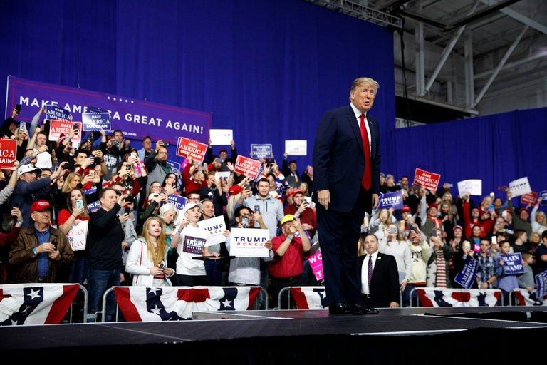 EXCLUSIVE: President Trump holds rally in Pittsburgh