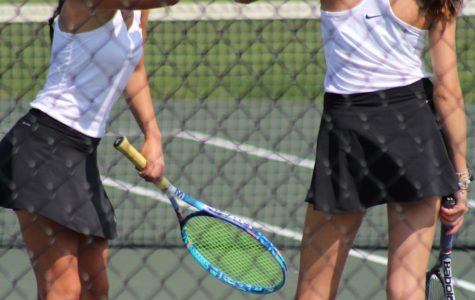 Senior doubles partners head to state tournament