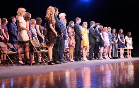 Canfield chapter of National Honor Society inducts new members (photos)